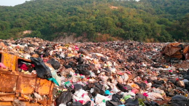 Garbage On Hill