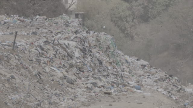 garbage pit in guatemala - guatemala stock videos & royalty-free footage