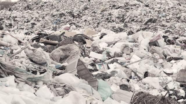 ゴミ,ゴミの山 - ポリスチレン点の映像素材/bロール