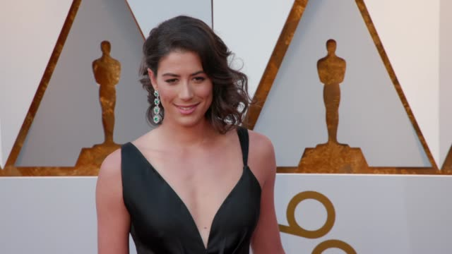 Garbiñe Muguruza at the 90th Academy Awards Arrivals at Dolby Theatre on March 04 2018 in Hollywood California