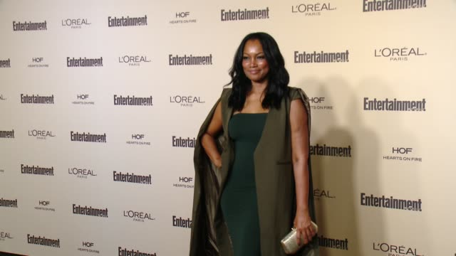 garcelle beauvais at entertainment weekly's preemmy celebration at fig olive melrose place on september 18 2015 in west hollywood california - entertainment weekly stock videos and b-roll footage