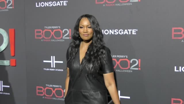 Garcelle Beauvais at Lionsgate Presents The Los Angeles Premiere of Tyler Perry's 'Boo 2 A Madea Halloween' at LA LIVE on October 16 2017 in Los...