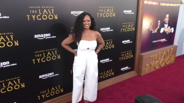 Garcelle Beauvais at the Amazon Original Series 'The Last Tycoon' Premiere at the Harmony Gold Preview House and Theater on July 27 2017 in Hollywood...