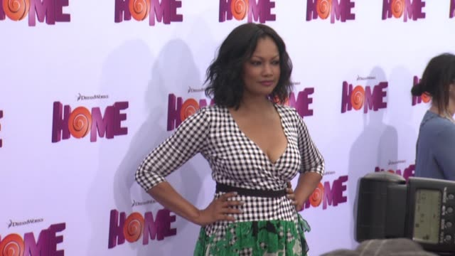 vídeos de stock e filmes b-roll de garcelle beauvais at the home los angeles premiere at regency village theatre on march 22 2015 in westwood california - regency village theater