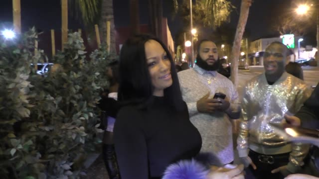 Garcelle Beauvais leaves Casper x American Airlines A Night in Flight party at Delilah in West Hollywood in Celebrity Sightings in Los Angeles