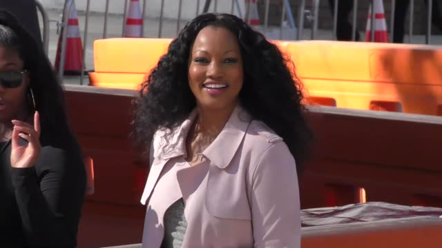 garcelle beauvais outside the daddy's home 2 premiere at village theatre in westwood in celebrity sightings in los angeles - regency village theater stock videos & royalty-free footage