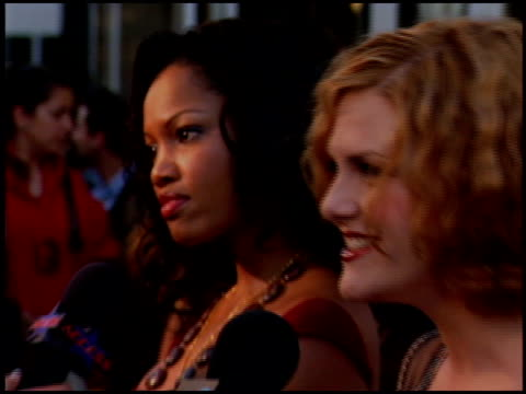 stockvideo's en b-roll-footage met garcelle beauvaisnilon at the bcbg max azria store opening on august 18 2005 - bcbg max azria