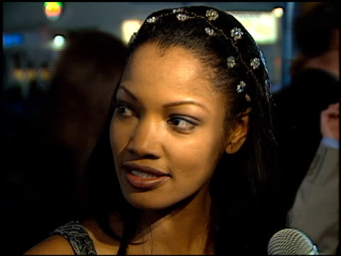 garcelle beauvais-nilon at the 'life' premiere at the mann village theatre in westwood, california on april 14, 1999. - regency village theater stock videos & royalty-free footage