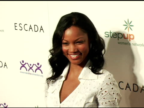 garcelle beauvais-nilon at the step up women's network inspiration awards sponsored by escada at the beverly hilton in beverly hills, california on... - escada stock videos & royalty-free footage