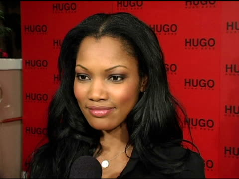 garcelle beauvais-nilon on why she came to support hugo boss, her expectations for the fall collection and on upcoming projects at the bash and... - hugo boss stock videos & royalty-free footage
