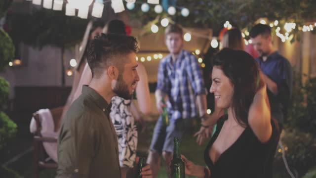 garden party - garden party stock videos & royalty-free footage
