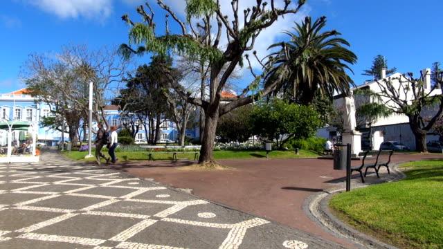 ガーデンポンタデルガーダ、アゾレス諸島 - アゾレス諸島点の映像素材/bロール