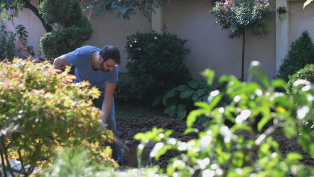 gardening - landscaped stock videos & royalty-free footage