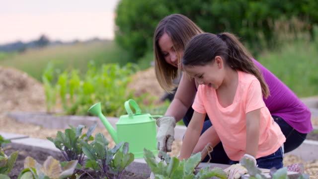 Tuinieren met moeder