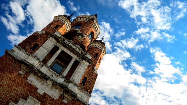 gardos tower time lapse - serbia stock videos & royalty-free footage