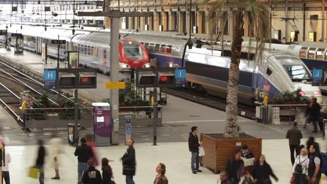 T/L WS Gare de Lyon train station / Paris, France