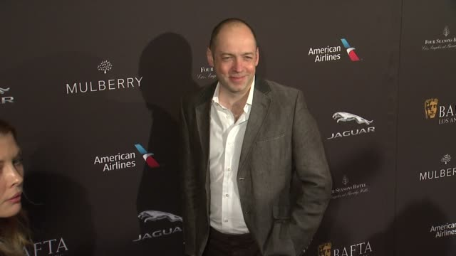 vídeos de stock, filmes e b-roll de gareth neame at the 2015 bafta los angeles tea party at the four seasons hotel on january 10 2015 in beverly hills california - four seasons hotel