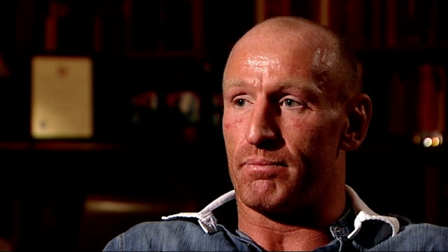 gareth thomas speaks about his decision to go public about his sexuality wales gareth thomas interview sot discusses positive response he has had... - gareth thomas rugby player stock videos & royalty-free footage