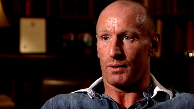gareth thomas speaks about his decision to reveal he is gay england london int gareth thomas interview sot why the time felt right i was surrounded... - gareth thomas rugby player stock videos & royalty-free footage