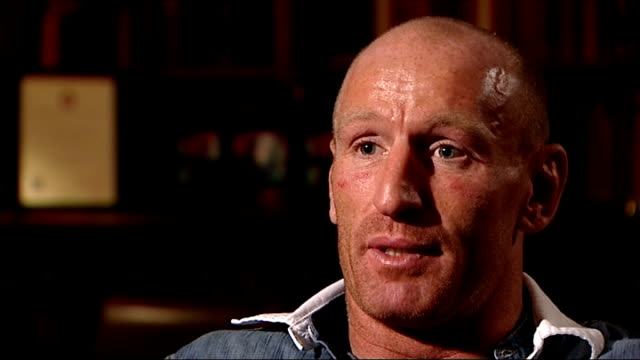gareth thomas speaks about his decision to reveal he is gay gareth thomas interview sot statistically you'd expect so i would never speculate i know... - gareth thomas rugby player stock videos & royalty-free footage