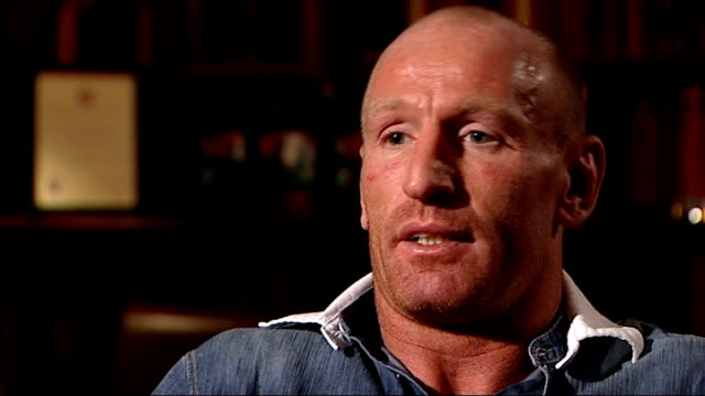 gareth thomas speaks about his decision to reveal he is gay gareth thomas interview sot i'm not saying i can change the world not attempting to... - gareth thomas rugby player stock videos & royalty-free footage