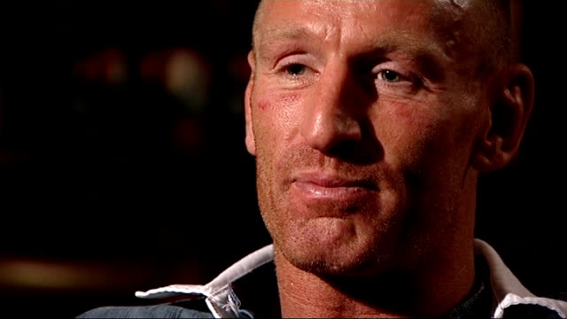 gareth thomas speaks about his decision to reveal he is gay gareth thomas interview sot three or four of my team mates have been 100 per cent certain... - gareth thomas rugby player stock videos & royalty-free footage