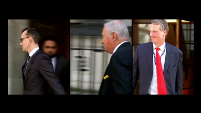 pathologists cannot determine cause of death split screen shots of three pathologists who gave evidence to gareth williams' inquest today dr benjamin... - shepherd stock videos & royalty-free footage
