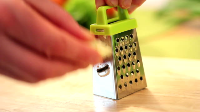 garlic mince - grater utensil stock videos & royalty-free footage