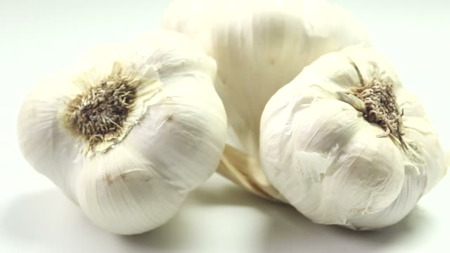 garlic - drehen stock videos & royalty-free footage