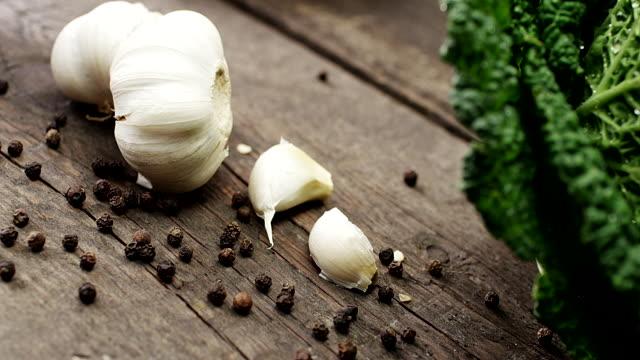 garlic - freshness stock videos & royalty-free footage