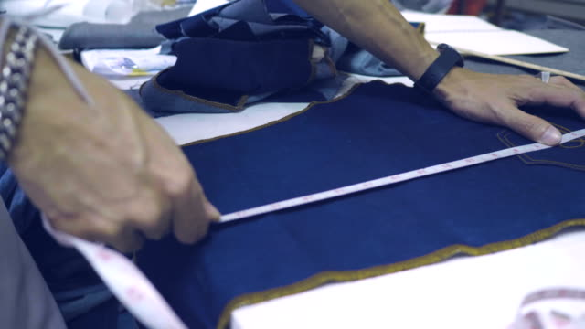 garment business concept - stitching stock videos & royalty-free footage