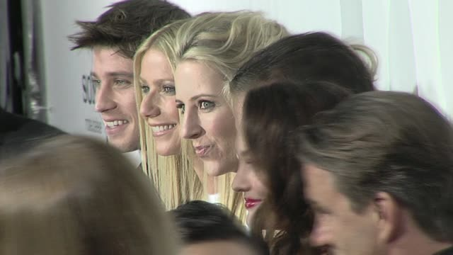 garrett hedlund, gwyneth paltrow, shana feste, tim mcgraw, leighton meester at the 'country strong' premiere at beverly hills ca. - tim mcgraw stock videos & royalty-free footage