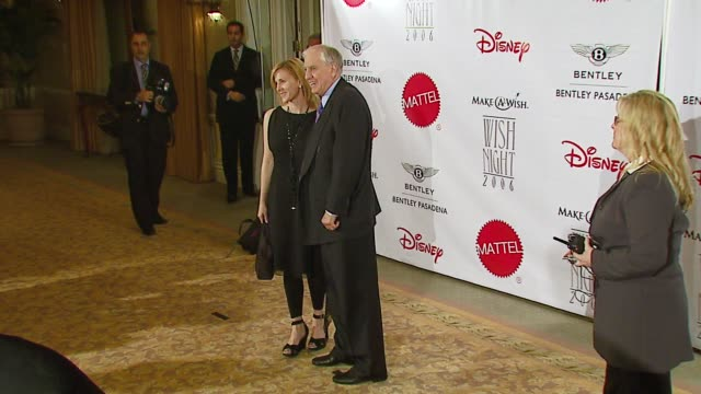 garry marshall and daughter kathleen at the make-a-wish foundation's wish night 2006 at the beverly hills hotel in beverly hills, california on... - beverly hills hotel stock videos & royalty-free footage