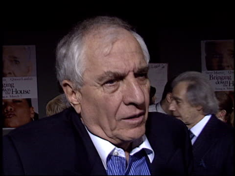 garry marshall at the 'bringing down the house' premiere at the el capitan theatre in hollywood california on march 2 2003 - el capitan theatre stock videos & royalty-free footage