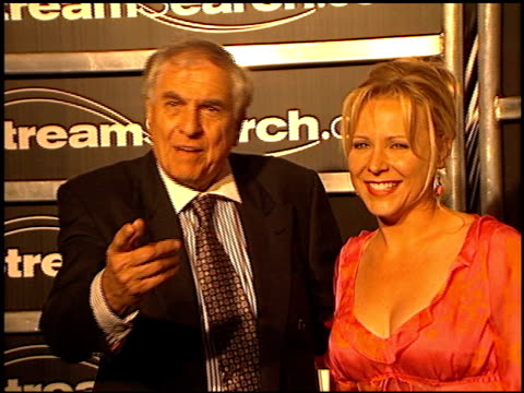 Garry Marshall at the StreamSearch com Awards at Playboy Mansion in Los Angeles California on April 4 2000
