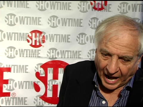 garry marshall on supporting the film b/c his show's actors are in it too on being rebellious as a kid on his new chicken little film with zach braff... - chicken wire stock videos and b-roll footage