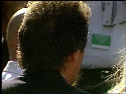 Garry Shandling at the 1993 Emmy Awards entrances and Press Room at the Pasadena Civic Auditorium in Pasadena California on September 19 1993
