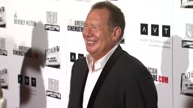 garry shandling at the the 25th annual american cinematheque award honoring robert downey jr at beverly hills ca - american cinematheque stock videos & royalty-free footage