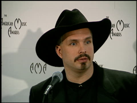 Garth Brooks at the American Music Awards at the Shrine Auditorium in Los Angeles California on January 27 1997