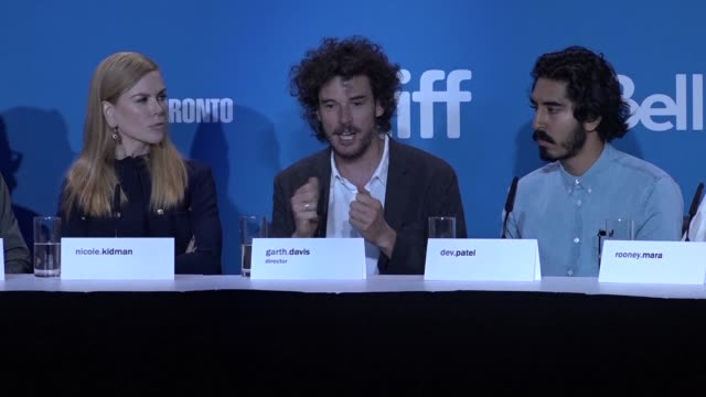 Garth Davis and his cast presented Lion his directorial debut at the International film festival in Toronto