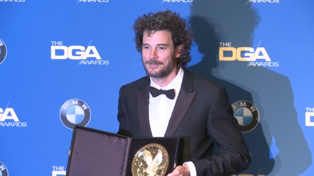 garth davis at 69th annual directors guild of america awards in los angeles ca - directors guild of america awards stock videos & royalty-free footage