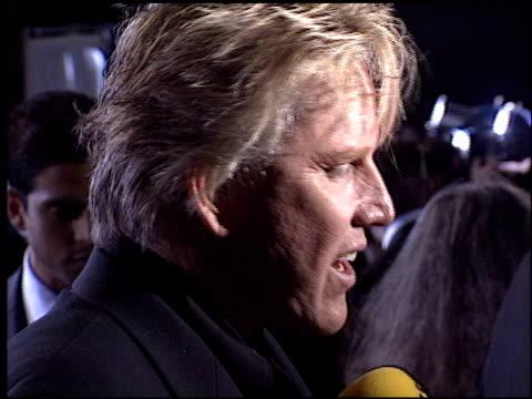 gary busey at the 2003 people's choice awards at the pasadena civic auditorium in pasadena, california on january 12, 2003. - ゲーリー ビジー点の映像素材/bロール
