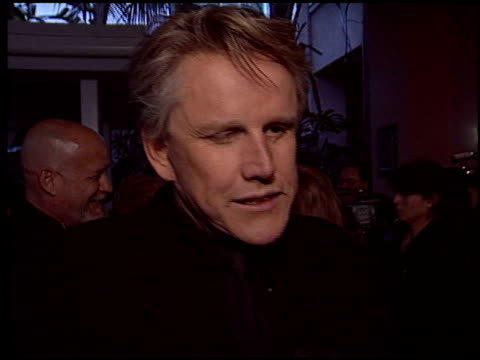 stockvideo's en b-roll-footage met gary busey at the 2005 night of 100 stars oscar party at the beverly hilton in beverly hills, california on february 27, 2005. - 77e jaarlijkse academy awards