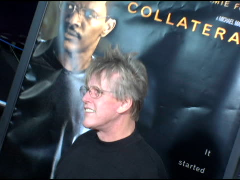 gary busey at the 'collateral' los angeles premiere at the orpheum theatre in los angeles, california on august 2, 2004. - ゲーリー ビジー点の映像素材/bロール
