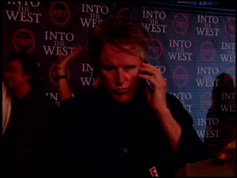 gary busey at the 'into the west' premiere at dga theater in los angeles, california on june 8, 2005. - ゲーリー ビジー点の映像素材/bロール