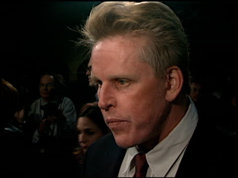 Gary Busey at the Premiere of 'The Mighty' at Cineplex Odeon in Century City California on October 7 1998