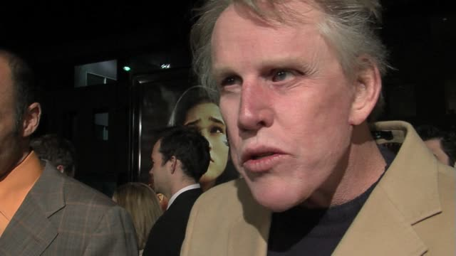 Gary Busey on why the film is important at the The Nativity Story Premiere arrivals at the Academy in Los Angeles California on November 28 2006