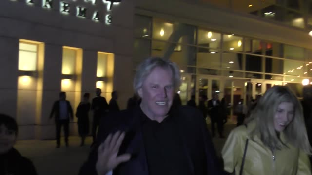 Gary Busey outside the John Wick 2 Premiere at ArcLight Theatre in Hollywood in Celebrity Sightings in Los Angeles