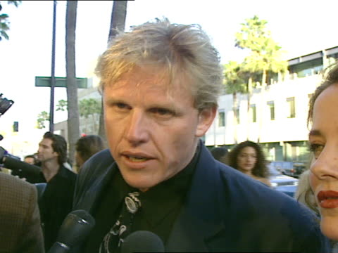 Gary Busey talks about the film