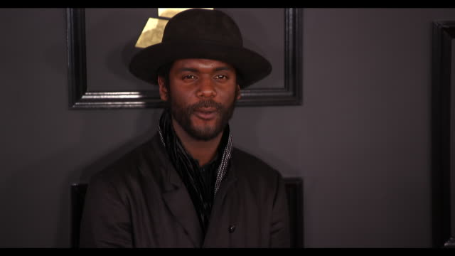 Gary Clark Jr at the 59th Annual Grammy Awards Arrivals at Staples Center on February 12 2017 in Los Angeles California 4K